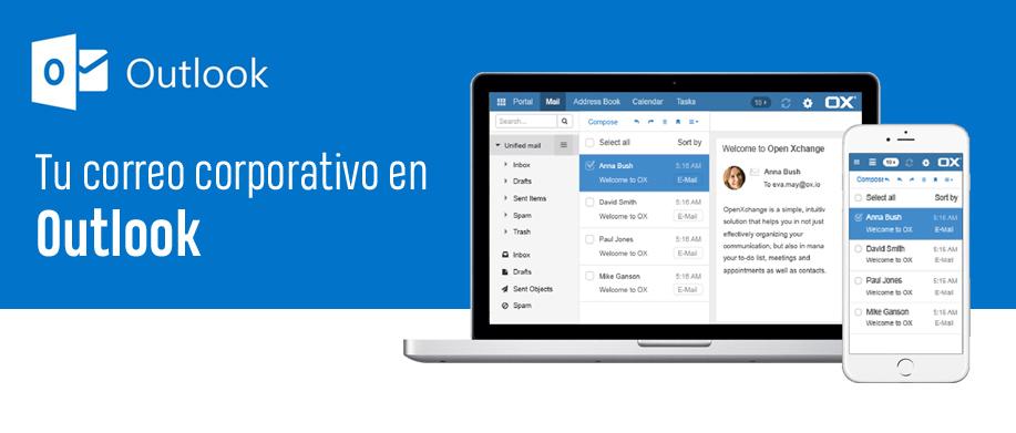 ¿Cómo configurar fácilmente tus correos de un hosting en Outlook?