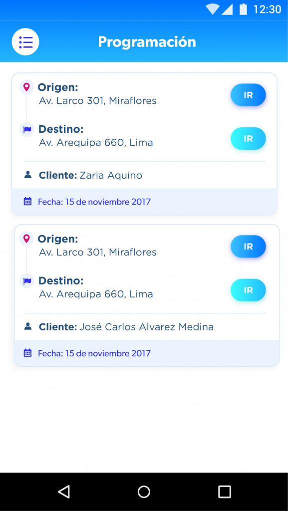 Desarrollo de App para delivery